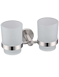 cheap -Toothbrush Holder Stainless Steel Stainless Brushed Wall Mounted