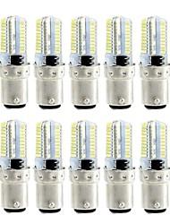 4W Ampoules Maïs LED 80 diodes électroluminescentes SMD 3014 Intensité Réglable Blanc Chaud Blanc 360lm 3000-3500  6000-6500K AC110 AC220
