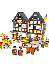 cheap -Building Blocks Toys House Animal Plastics Not Specified Kids Pieces