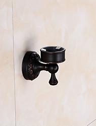 Недорогие -черный древняя ванна зубная щетка чашка держатель для зубной щетки европейская чашка