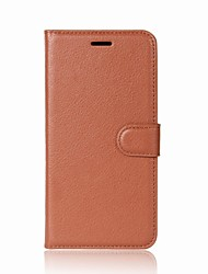 cheap -Case For Huawei P9 Lite Wallet / Card Holder / with Stand Full Body Cases Solid Colored Hard PU Leather for Huawei P9 Lite / Honor 8 Pro / Honor 6A / Mate 9 Pro