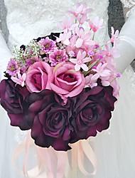 economico -Bouquet sposa Bouquet Matrimonio Poliestere 20 cm ca. 20 cm ca.