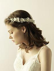 Недорогие -Ткань ободки / Цветы с 1 Свадьба / Вечеринка / ужин Заставка