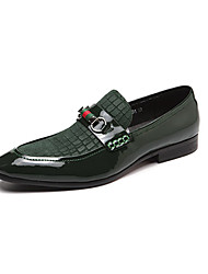 Men's Loafers & Slip-Ons Driving Shoes Formal Shoes Comfort Spring Fall Real Leather Cowhide Nappa Leather Office & Career Party & Evening