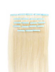cheap -Febay Tape In Human Hair Extensions Straight Human Hair Extensions Human Hair Nano Women's