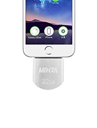 MIXZA MFI Certification IU-007 For iPhone OTG USB Flash Drives 32GB For IPhone/Ipod/ipad Air/ipad Mini/Mac