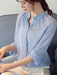 cheap -Women's Work Blouse - Print Stand
