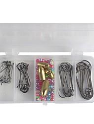 baratos -Kits de Pesca Ultra Leve (UL) Plástico Aço de Carbono Pesca de Mar Isco de Arremesso Pesca no Gelo Pesca de Gancho Pesca de Água Doce