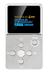 Недорогие -HiFiPlayerНет 3,5 мм Micro SD карта 64 Гбdigital music playerкнопка