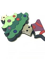 32gb natal usb flash drive cartoon árvore de natal presente de natal usb 2.0