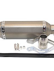 cheap -L105*235 51mm Stainless Steel Exhaust Mufflers For Motorcycles S-Type