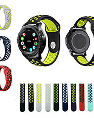 For Samsung Gear S3 Frontier Classic Sports Silicone Strap Wrist Band 22MM