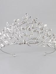 baratos -cristal acrílico rhinestone tiaras headpiece estilo feminino clássico