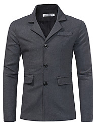 Men's Going out Casual/Daily Casual Chinoiserie Winter Coat