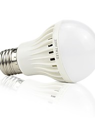 1pç 4.5W E27 Lâmpada de LED Inteligente 22 leds SMD 2835 Ativada Por Som Decorativa Controle de luz Controle de Voz Branco 420lm 6000-6500