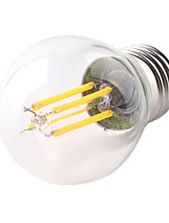 cheap -1pc 4W 360lm E26 / E27 LED Filament Bulbs G45 4 LED Beads COB Dimmable Decorative LED Light Warm White 220-240V