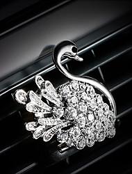abordables -Pare-choc de la grille de sortie de l'air de voiture Diamant naturel diamantée personnalisée Purificateur d'air automobile créatif