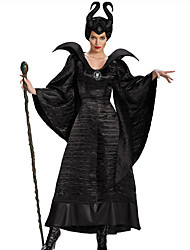 Wizard/Witch Fairytale Cosplay Maleficent Cosplay Costumes Party Costume Women's Halloween Carnival Festival/Holiday Halloween Costumes