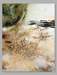 preiswerte -Handgemalte Abstrakt Vertikal, Künstlerisch Segeltuch Hang-Ölgemälde Haus Dekoration Ein Panel