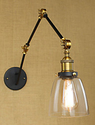 AC 110-120 AC 220-240 40 E26/E27 Simple Vintage Country Retro Painting Feature for Swing Arm Bulb Included Eye Protection,Ambient Light