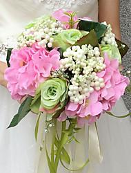 preiswerte -Hochzeitsblumen Sträuße Hochzeit Seide ca.25cm 25 cm ca.