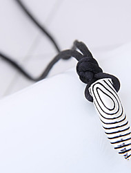 Недорогие -Муж. Жен. В форме свечи форма Мода Панк Ожерелья с подвесками Сплав Ожерелья с подвесками Повседневные Бижутерия