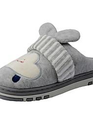 Boys' Shoes Velvet Winter Fur Lining Fluff Lining Comfort Slippers & Flip-Flops Pom-pom For Casual Khaki Light Grey Navy Blue