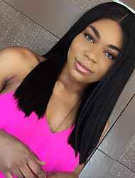 cheap -Short Bob Straight Lace Front Wigs Human Hair Wigs For Women Brazilian Remy Hair Lace Front Human Hair Wigs Bleached Knots