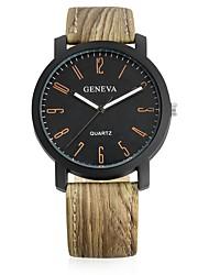 cheap -Men's Women's Wrist watch Fashion Watch Chinese Quartz Casual Watch Leather Pearl Band Vintage Casual Cool Black Khaki
