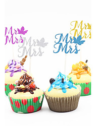 Cake Topper Paper Wedding Party/Evening Holiday Classic Theme Others Romance Floral/Botanical Wedding PVC Bag