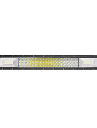 cheap -LED Tri-Row Light Bar Curved 324W 32400LM Off Road Driving Fog Lights Lens Super Bright for Jeep Trucks Boats ATV Cars IP68 9-32V DC