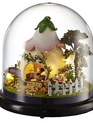 cheap -Balls Music Box Jigsaw Puzzle Model Building Kits Toys DIY Dome House Cartoon Plastics Glass Classic 1 Pieces Not Specified Valentine's