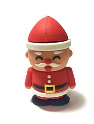 2gb weihnachts usb flash fahrzeug karikatur kreativ sankt klaus weihnachtsgeschenk usb 2.0