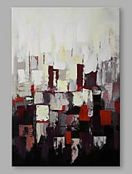 Peint à la main Abstrait Format Vertical,Artistique Un Panneau Toile Peinture à l'huile Hang-peint For Décoration d'intérieur