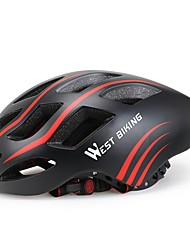 cheap -West biking Helmet Bike Helmet CE Cycling 17 Vents Durable Light Weight EPS Cycling Bike