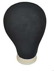 Têtes de Mannequin pour Perruque Soin des Cheveux Polyester Outils Perruques