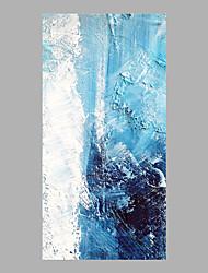 economico -Dipinta a mano Astratto Verticale, Astratto Tela Hang-Dipinto ad olio Decorazioni per la casa Un Pannello