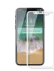 Vidro Temperado Protetor de Tela para Apple iPhone X Protetor de Tela Frontal Dureza 9H Anti Impressão Digital