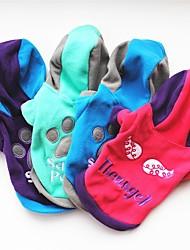 economico -Cane Felpe con cappuccio Abbigliamento per cani Casual Geometrico Viola Fucsia Verde Blu Costume Per animali domestici