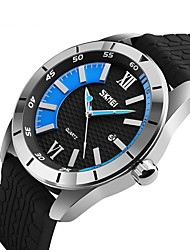 cheap -9151 SKMEI Wathces Men Luxury Brand 2017 Fashion Sport Style Top Quartz Watch Water Resistant Silicone Strap Wristwatch Clock