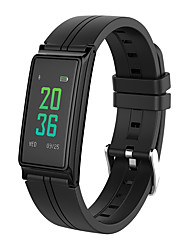 b5 bluetooth monitor di frequenza cardiaca schermo a colori touch screen wristband braccialetto fitness tracker pedometro pulseria