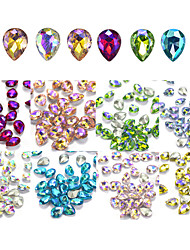 cheap -80 Glitter Rhinestones Nail Jewelry Jewelry Kits Fashionable Jewelry Elegant & Luxurious Sparkle & Shine Luxury Fashionable Design