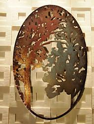 Décoration murale fer vintage art mural abstrait thème art mural en métal
