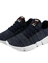 cheap -Men's Athletic Shoes Driving Shoes Spring Summer Fall Winter Knit Basketball Shoes Casual Outdoor Office & Career Polka Dot Flat Heel