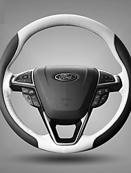 cheap -Automotive Steering Wheel Covers(Leather)For Ford All years All Models