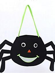 abordables -Araignée Sacs et Sacs à Main Halloween Fête / Célébration Déguisement d'Halloween Noir Mode