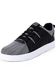 economico -Da uomo Scarpe Tulle PU (Poliuretano) Primavera Autunno Comoda Sneakers Per Casual Nero White/Blue
