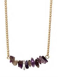 abordables -Femme Pendentif de collier Cristal Pierre naturelle Alliage simple Elégant Bijoux Pour Soirée
