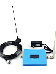 Mini Intelligent LCD Display CDMA 850mhz DCS 1800mhz Mobile Phone Signal Booster Signal Repeater with Whip Antenna / Sucker Antenna Blue