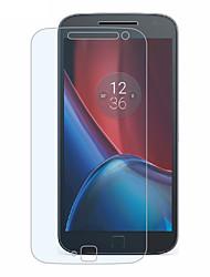 levne -Screen Protector pro Motorola Moto G4 Plus Tvrzené sklo 1 ks Fólie na displej High Definition (HD) / 9H tvrdost / 2.5 D zaoblený okraj